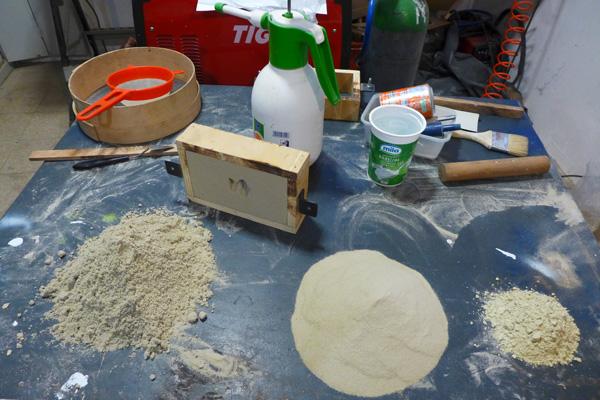 Sabbia silicea per fonderia
